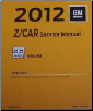 2012 Chevrolet Malibu Factory Service Manual (SKU: GMP12ZNS)