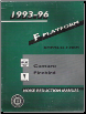 1993 -1996 Chevrolet Camaro and Pontiac Firebird Factory Noise Reduction Manual (SKU: GMP9396FNRM)