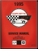 1995 Chevrolet Corvette Service Manual - 2 Volume Set (SKU: GMP95Y)