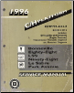1996 Pontiac Bonneville, Oldsmobile Eighty-Eight, LSS, Ninety-Eight, Buick LeSabre, Park Avenue Factory Service Manual - 2 Volume Set (SKU: GMP96CH1-2)