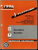 1996 Chevrolet Cavalier  & Pontiac Sunfire Factory Service Manual (SKU: GMP96J-1-2)