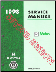 1998 Chevrolet Geo Metro Factory Service Manual, 2nd Edition - 3 Volume Set