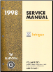 1998 Oldsmobile Intrigue Service Manual - 3 Volume Set (SKU: GMP98WO1-2-3)