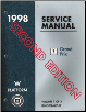 1998 Pontiac Grand Prix (W Platform) Service Manual - 3 Volume Set - Second Edition (SKU: GMP98WP1-2-3F)