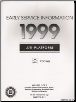 1999 Chevrolet Tracker Factory Early Service Manual - 2 Volume Set (SKU: GMT99JE1-2P)