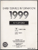 1999 Pontiac Grand Am & Oldsmobile Alero Early Release Factory Service Manual (SKU: GMP99NPO1-3P1)
