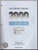 2000 All GM Passenger Cars and Light Duty Trucks Transmission, Transaxle and Transfer Case Unit Repair Manual, 2 Volume Set (SKU: GMPT00TURM1-2)