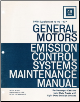 1978 General Motors Emission Control Systems Maintenance Manual (SKU: GMSS781)