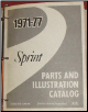 1971 - 1977 GMC Sprint Parts Book (SKU: GMSprint-57)