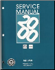 2000 Chevrolet / GMC M/L Vans: Astro & Safari Factory Service Manual - 2 Volume Set (SKU: GMT00ML1-2)