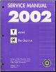 2002 Pontiac Aztek & Buick Rendezvous Factory Service Manual - 2 Volume Set (SKU: GMT02B1-2)