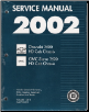 2002 Chevrolet 3500 HD Cab Chassis / GMC Sierra 3500 Factory Service Manual - 3 Volume Set (SKU: GMT02CK1-2-3)