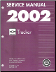 2002 Chevrolet Tracker Factory Service Manual (SKU: GMT02JE)