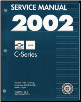2002 Chevrolet, GMC Medium Duty 530 C6500 thru C8500 Truck (MD-Platform) Service Manual - 2 Volume Set (SKU: GMT02MD530C)