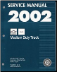 2002 Chevrolet, GMC Medium Duty Truck B7-Chassis Factory Service Manual - 2 Volume Set (SKU: GMT02MDB71-2)