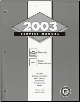 2003 Chevrolet Silverado and  GMC Sierra & Sierra Denali Factory Service Manual 5 Volume Set (SKU: GMT03CK8PU1-2-3-4-5)