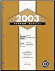 2003 Chevrolet Blazer, S10 Pickup and GMC Jimmy and Sonoma Service Manual Set - Volume 1, 2 & 3 (SKU: GMT03STOS1-2-3)