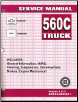 2005 Medium Duty 560 C-Series Truck (MD-Platform), Kodiak and Topkick, Service Manual (SKU: GMT05MD560C)