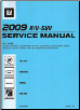 2009 Buick Enclave, Chevrolet Traverse, GMC Acadia & Saturn Outlook Factory Service Manual - 4 Vol. Set (SKU: GMT09RV)