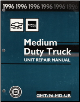 1996 Chevrolet / GMC Medium Duty Truck Unit Repair Manual (SKU: GMT96MDUR)
