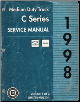 1998 Chevrolet, GMC Medium Duty 530 C6000 thru C7500 Truck Service Manual - 2 Volume Set (SKU: GMT98MD530C)