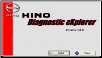 2005-2014 Hino DX Diagnostic eXplorer Genuine Licensed Software DVD-ROM (SKU: HINO-DX)