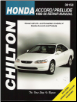 1996 - 2000 Honda Accord and Prelude Chilton's Total Car Care Manual (SKU: 0801991188)