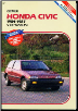 1984 - 1987 Honda Civic Clymer Shop Manual (SKU: 089287449X)