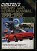 1980 - 1987 Chilton's Import Auto Repair Manual - Good Condition (SKU: 0801976723)