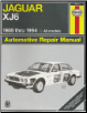 1988 - 1994 Jaguar XJ6, Haynes Repair Manual (SKU: 1563922371)