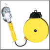 Incandescent Trouble Light Reel with Metal Cage (SKU: KTI73331)