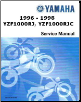 Official 1996-1998 Yamaha YZF1000 Factory Service Manual (SKU: LIT-11616-10-60)