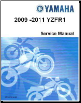 2009 - 2011 Yamaha YZFR1 Factory Service Manual (SKU: LIT-11616-22-78)