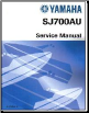 1997 - 2012 Yamaha SJ700B Superjet Factory Service Manual (SKU: LIT186160143)
