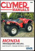 2007 - 2014 Honda TRX420 Rancher Clymer Repair, Service & Maintenance Manual (SKU: M202-1620921510)