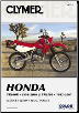 1991 - 2007 Honda XR600R  & XR650L Clymer Repair Manual (SKU: M221-1599691574)