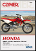 1992 - 2009 Honda XR80R, CRF80F, XR100R & CRF100F Clymer Repair Manual (SKU: M222-1599693275)