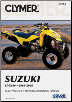 2003 - 2008 Suzuki LT-Z400 Clymer ATV Maintenance, Troubleshooting, Repair Manual (SKU: M2702-1599692953)