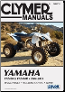 2004 - 2013 Yamaha YFZ450 & YFZ450R Clymer ATV Repair Manual (SKU: M2872-1599696533)