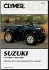 1998 - 2002 Suzuki LTF-500F Clymer ATV Service, Repair, Maintenance Manual (SKU: M3432-1599695162)