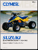 1985 - 1992 Suzuki Quad Racer LT250R Clymer ATV Service, Repair, Maintenance Manual (SKU: M3802-0892879084)