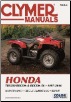 1997 - 2016 Honda TRX250 Recon, Recon ES Clymer ATV Repair Manual (SKU: M4464-9781620922323)