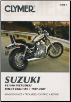 1987 - 2007 Suzuki Intruder VS1400 Intruder, Boulevard S83 Clymer Repair Manual (SKU: M4823-1599692538)
