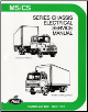 Mack Truck Mid-Liner MS CS Chassis Electrical / Wiring Factory Service Manual (SKU: MLS11501)