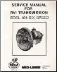 Mack Truck Service Manual for RVI Transmission (SKU: MLS52)