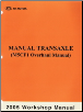 2005 Manual Transaxle Workshop Manual M5CF1 (SKU: MTMSEG52B)