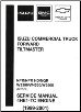 1999 - 2001 Chevrolet, GMC & Isuzu NPR/NPR HD/NQR W3500-5500 Diesel Commercial Truck Forward Tiltmaster Engine Service Manual (SKU: NPD01ESMC02)