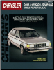 1978 - 1989 Dodge Omni, Horizon, Rampage, Miser, 024, Charger & TC3 Chilton's Total Car Care Manual (SKU: 0801987873)