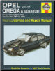 Opel Omega (Nov 1986-1994) & Senator (Sept 1987-1994), Haynes Repair Manual (SKU: 1859603424)