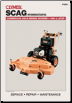 1990 - 2007 Scag Hydrostatic Walk-Behind Mower Clymer Service Manual (SKU: P200-0872888843)
